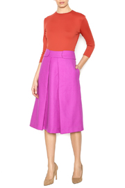 Linda Leal Three-Quarter Fitted Shirt - Front full body