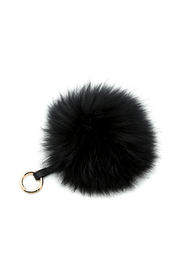 Linda Richards Fur Ball Keychain - Front cropped