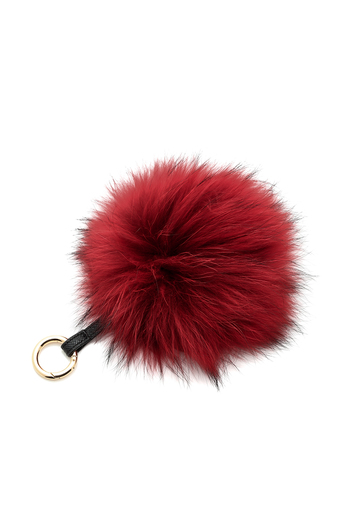 Linda Richards Fur Ball Keychain From Chicago By Kovet