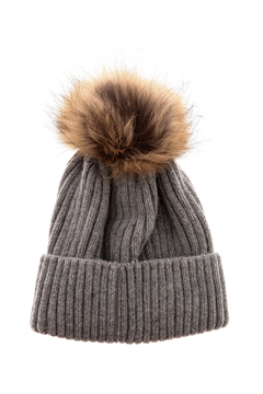 Shoptiques Product: Fur Pom Hat