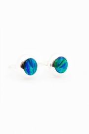 Linda de Taxco Round Opal Earrings - Product Mini Image
