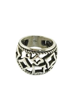 Shoptiques Product: Square Figures Ring