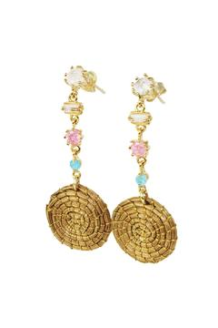 Shoptiques Product: Vegetable Gold Earrings