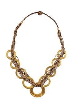 Shoptiques Product: Vegetable Gold Necklace