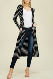 annabelle Lindsay Stripe Duster - Product Mini Image