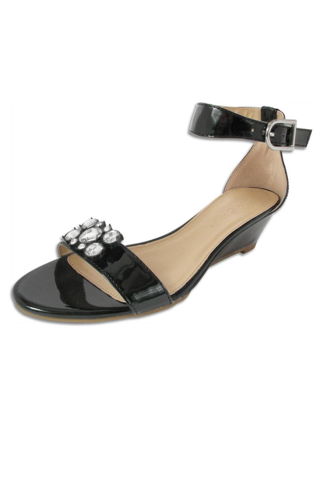 Lindsay Phllips Mitzi Black Wedge - Main Image