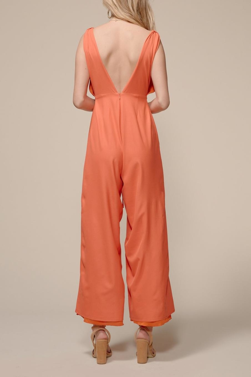 4SI3NNA Lindsee Jumpsuit - Side Cropped Image