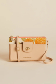 Spartina 449 Lindsey Phone Crossbody - Honey Horn - Front cropped