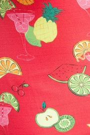 Lindy Bop Fruit Cocktail Top - Side cropped