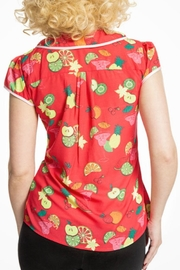 Lindy Bop Fruit Cocktail Top - Front full body