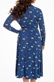 Lindy Bop Lucky Horse Dress - Side cropped