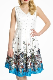 Lindy Bop Retro Butterfly Dress - Product Mini Image