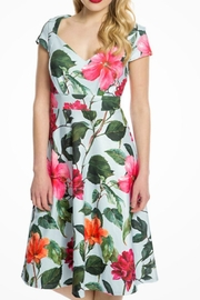Lindy Bop Sweetheart Floral Dress - Product Mini Image
