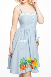 Lindy Bop Tropical Fruit Dress - Front full body
