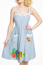 Lindy Bop Tropical Fruit Dress - Product Mini Image