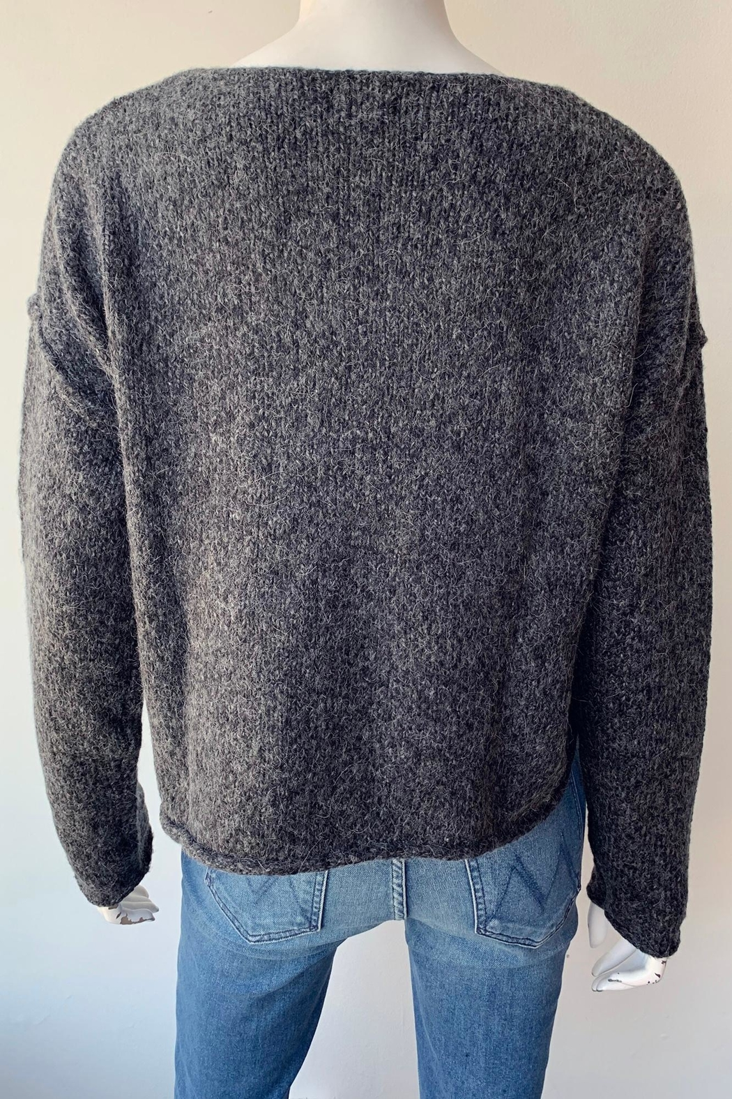 Line Evie Sweater - Back Cropped Image
