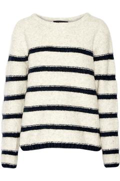 Line Striped Pullover Sweater - Alternate List Image