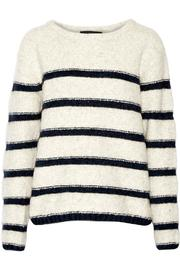 Line Striped Pullover Sweater - Product Mini Image