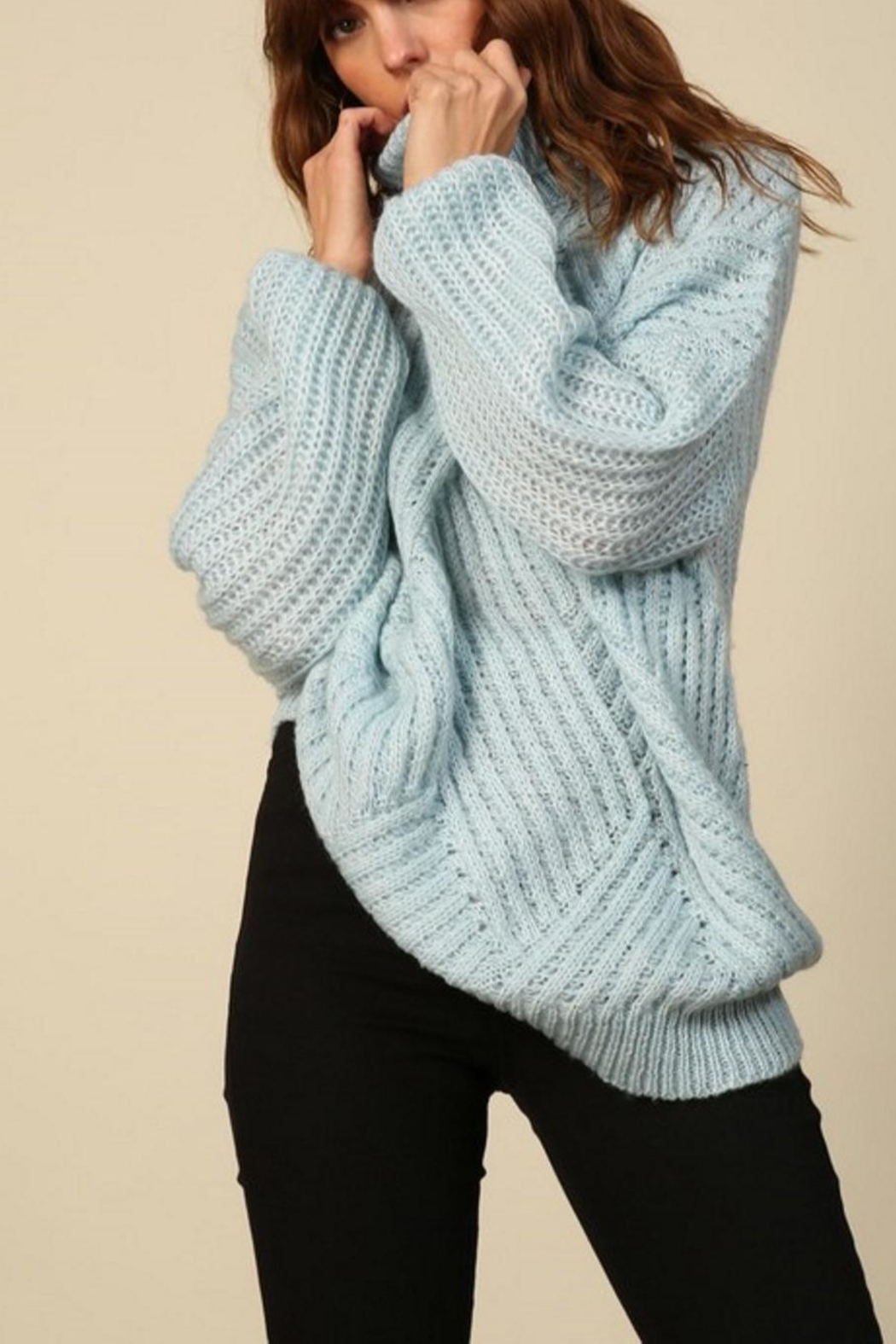 Line & Dot Bea Sweater - Front Full Image