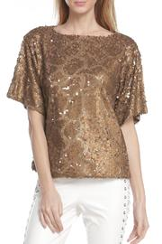 Line & Dot Lotte Sequin Top - Product Mini Image