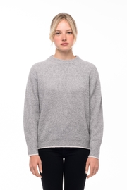Line knitwear Andi In Quarry - Front cropped