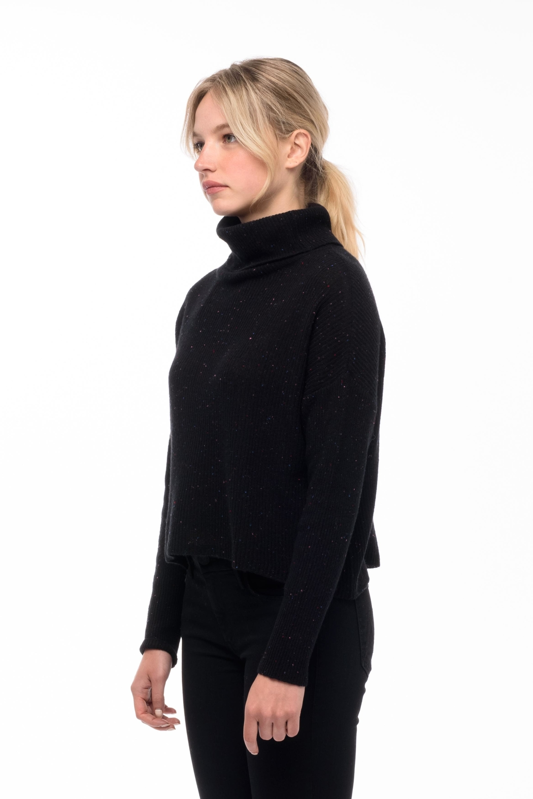 Line knitwear Beatrice In Galaxy - Front Full Image