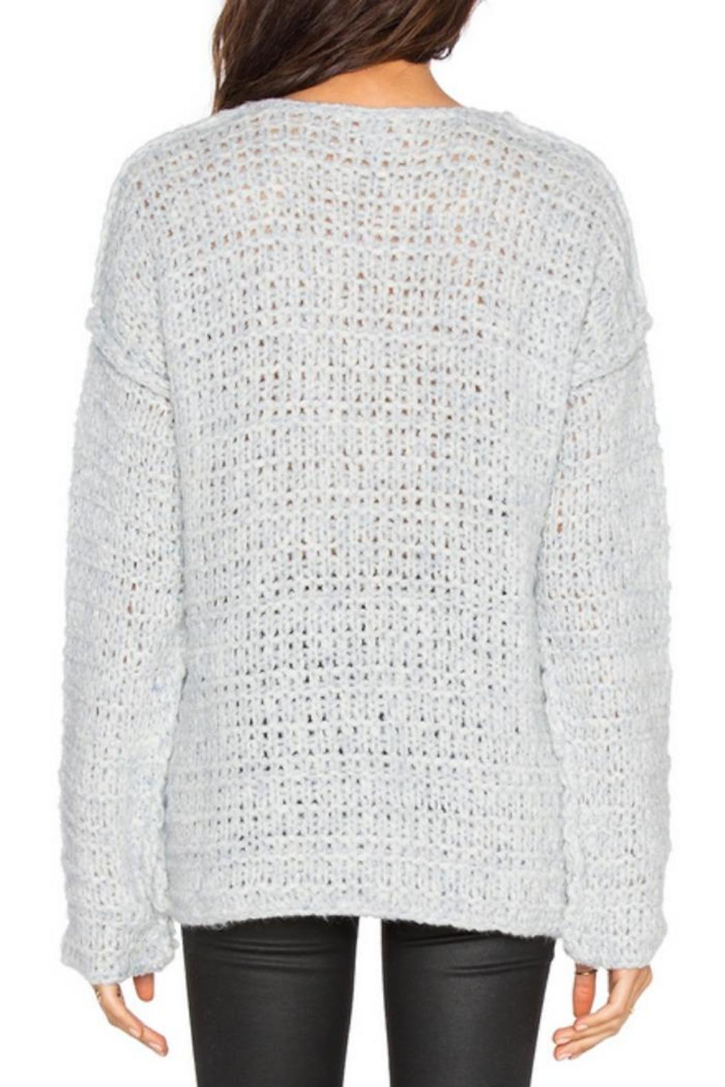 Line knitwear Claude Wool-Blend Sweater - Front Full Image