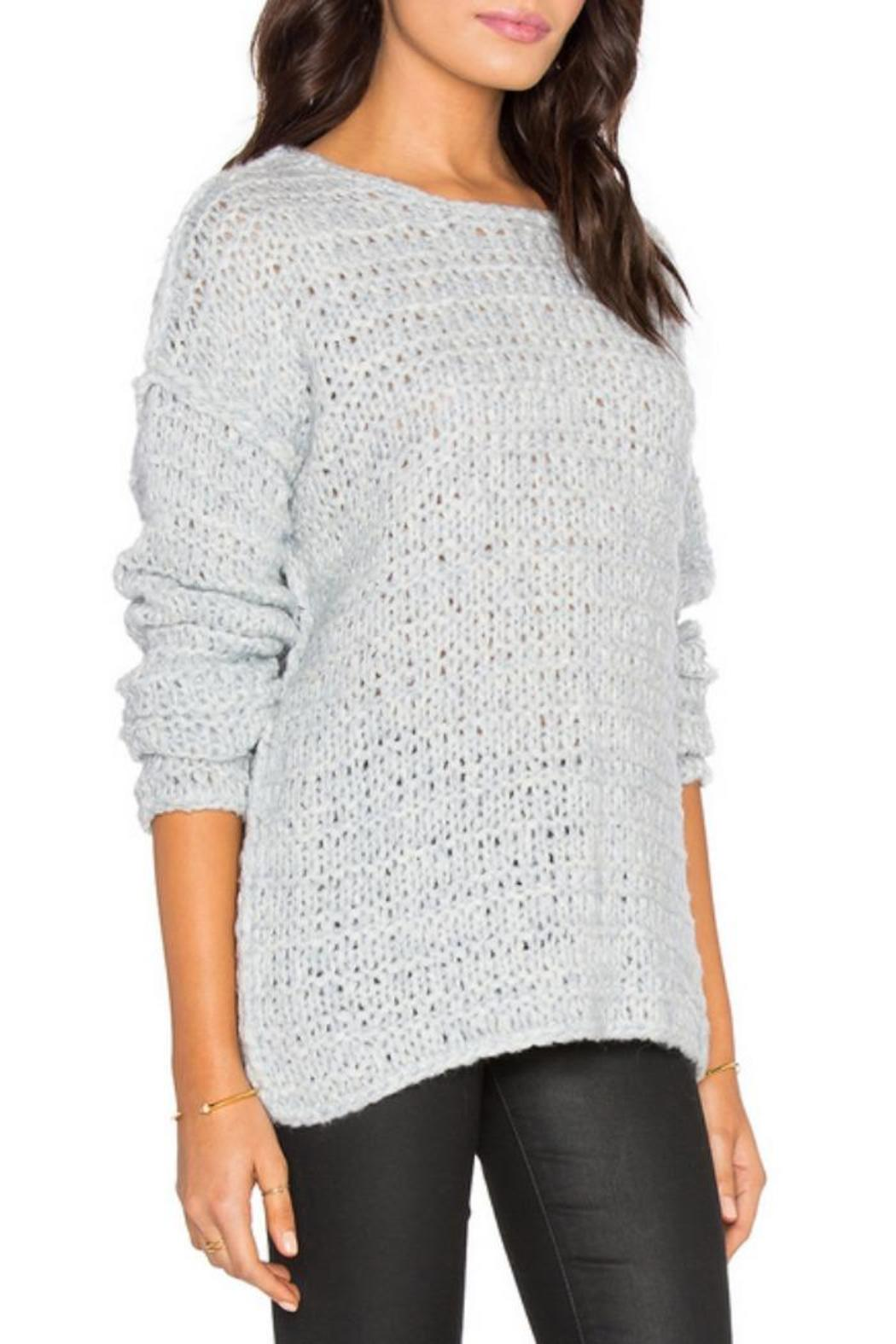 Line knitwear Claude Wool-Blend Sweater - Side Cropped Image