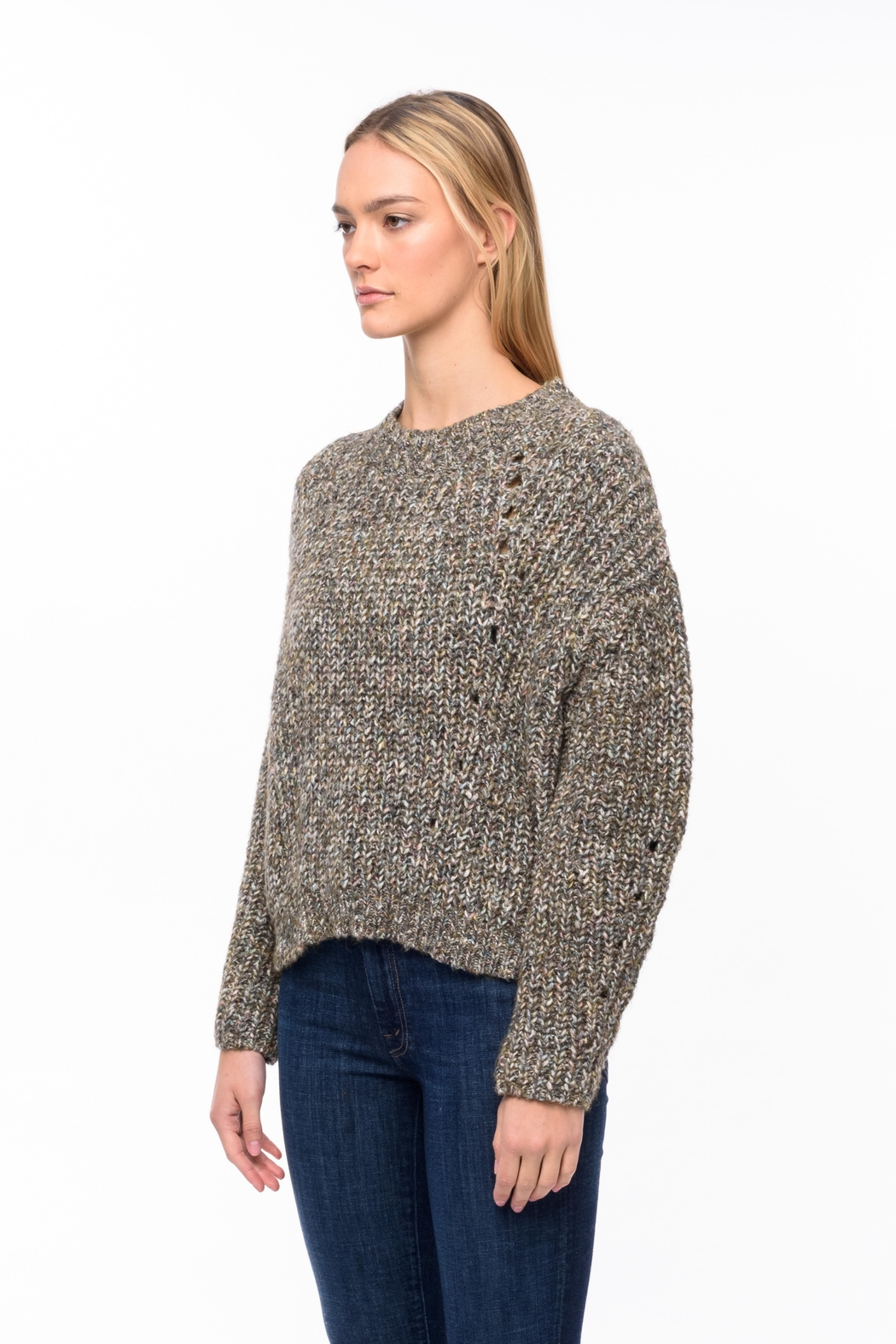 Line knitwear Daphne In Myriad - Front Full Image