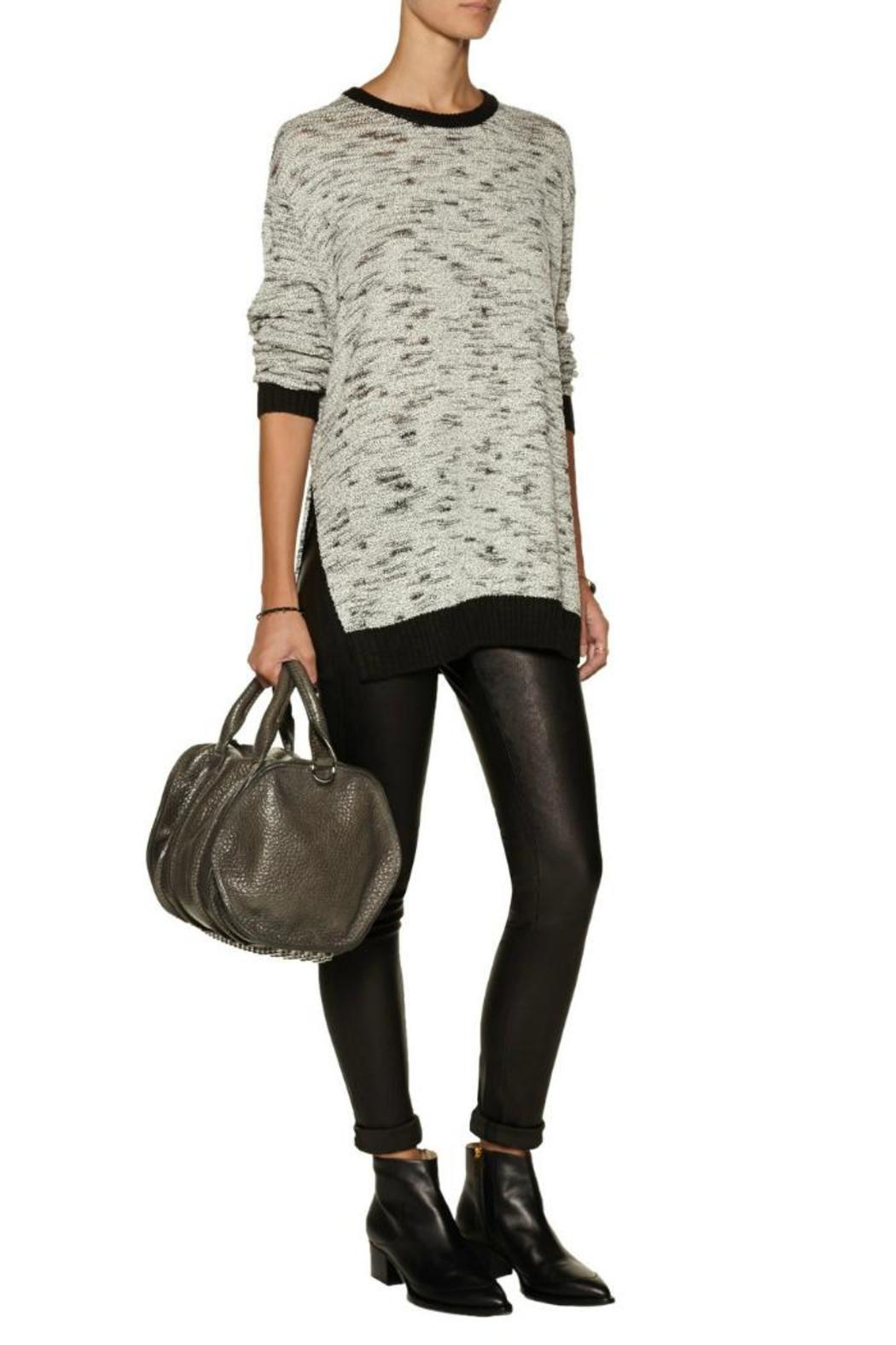 Line knitwear Gill Long Sweater - Front Cropped Image