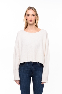 Line knitwear Leighton In Powder - Product List Image