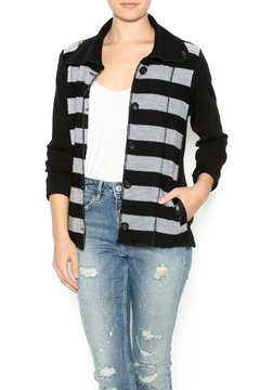 Shoptiques Product: Stripe Detailed Cardigan