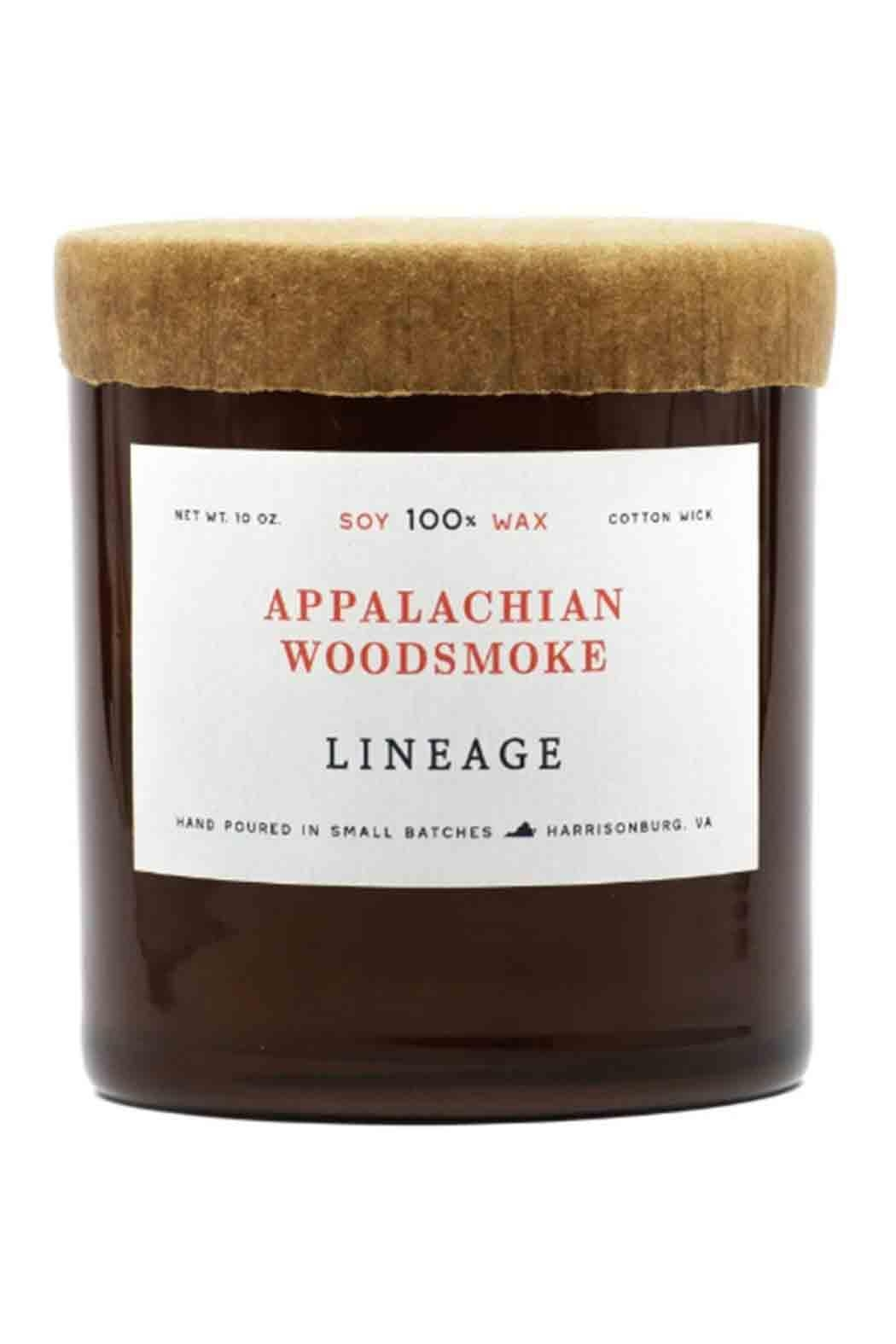 Lineage Appalachian Woodsmoke Candle - Front Cropped Image