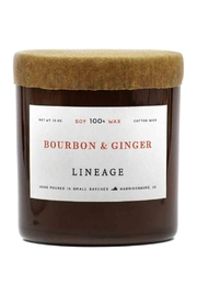 Lineage Bourbon & Ginger Candle - Front cropped