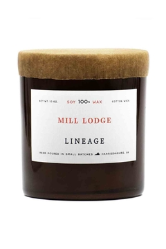Lineage Mill Lodge Candle - Alternate List Image