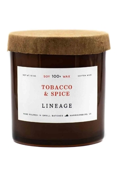 Shoptiques Product: Tobacco & Spice Candle