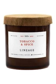 Lineage Tobacco & Spice Candle - Product Mini Image