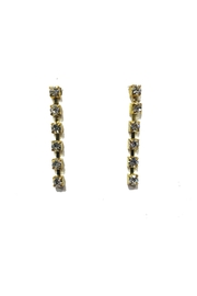 Lets Accessorize Linear Dangle Earrings - Product Mini Image