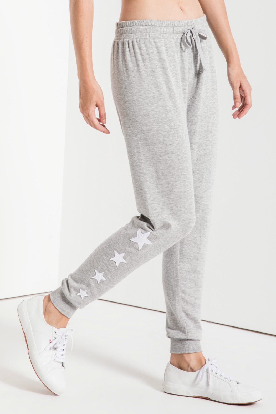z supply Linear Star Soft Jogger - Front Cropped Image
