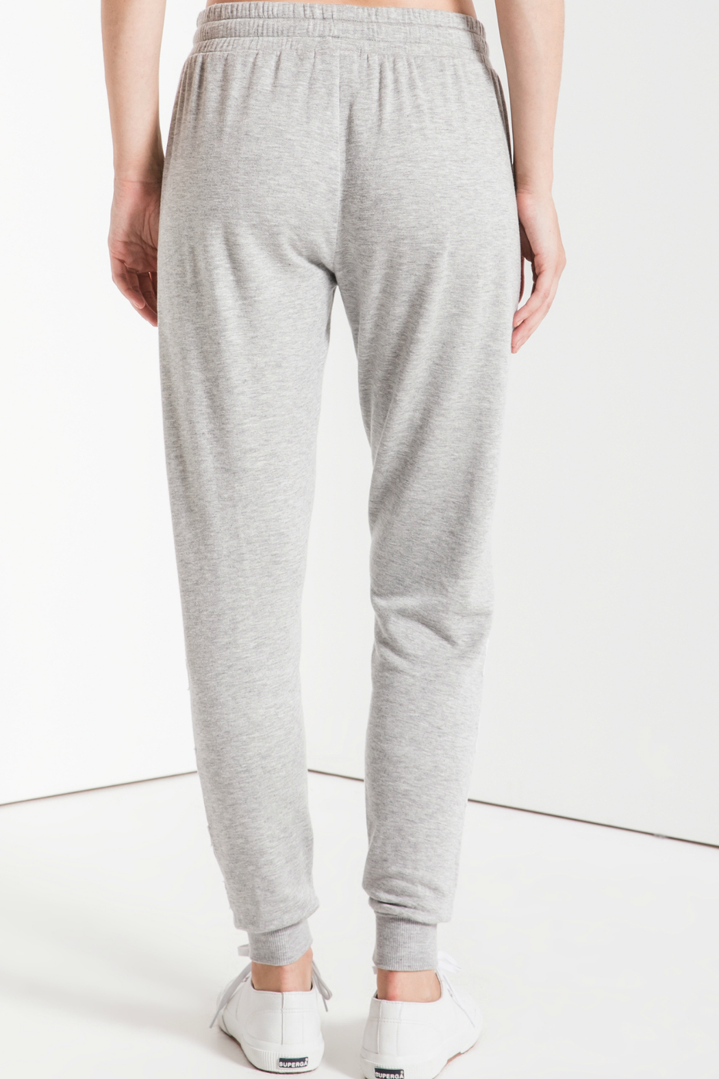 z supply Linear Star Soft Jogger - Side Cropped Image