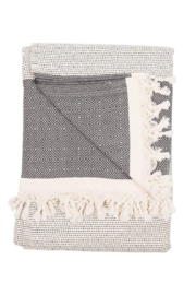 Pokoloko LINED DIAMOND BLANKET - Front cropped