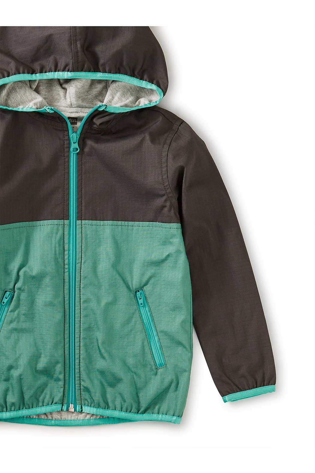 Tea Collection Lined Ripstop Jacket - Front Full Image