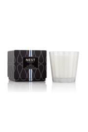 The Birds Nest LINEN 3 WICK CANDLE - Product Mini Image