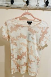 Alpine Stars Linen Admiral tee-washed down camouflage - Product Mini Image