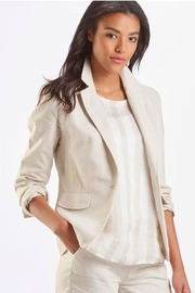 cafb0294d46 Michael Stars Ruth Striped Linen Blazer from Park City by Mary ...
