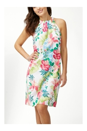 Tommy Bahama Linen-Blend Halter Dress - Product Mini Image