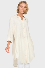 Joseph Ribkoff Linen Blend Shirt - Product Mini Image