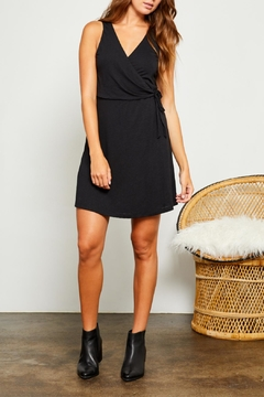 Gentle Fawn Linen-Blend Wrap Dress - Product List Image