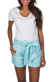 Lauren James Linen Bow Short - Product Mini Image