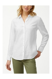 Tommy Bahama Linen Boyfriend Shirt - Product Mini Image